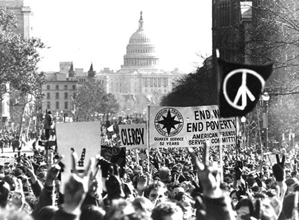 ANTI VIETNAM WAR PROTEST